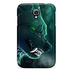 Aww43525atyI Cases Covers Art Wolf Galaxy S4 Protective Cases