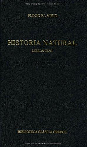 Libro Historia Natural Libros Iii Vi Plinio El Viejo Epub