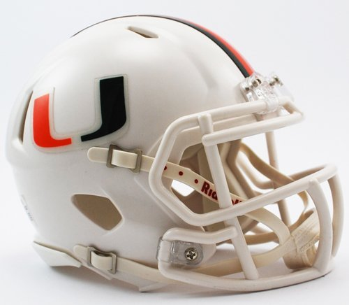 NCAA Miami Hurricanes Speed Mini -