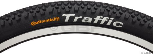 (Continental Traffic Bike Tire, Black, 26 in X 2.1)