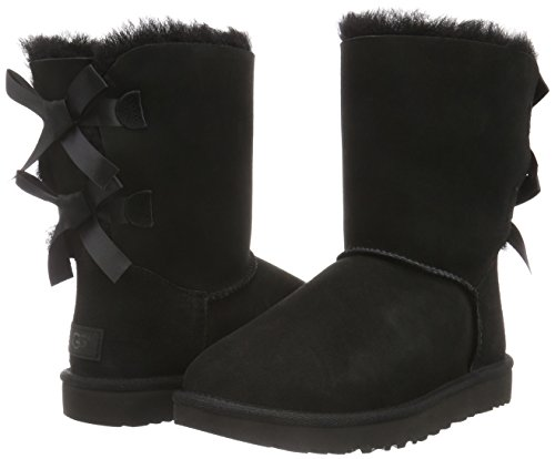 UGG Women's Bailey Bow II Winter Boot, Black, 8 B US by UGG (Image #5)