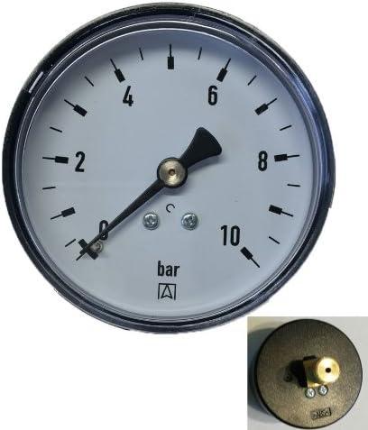 600450 Afriso Manometer mit Anschlu/ß 1//4 Zoll Gewinde hinten 1 St/ück