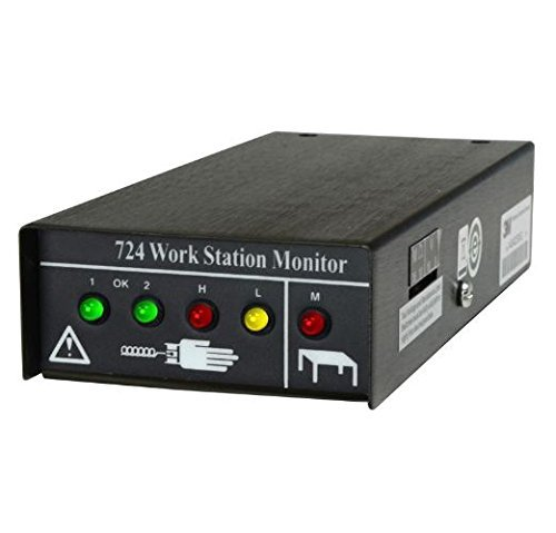 SCS formerly 3M 724 Workstation Monitor for Dual Wire ESD Wrist Straps