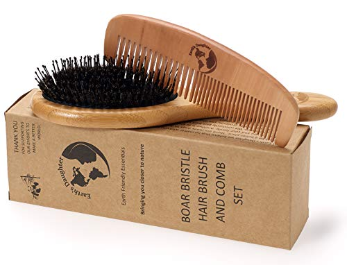 boars hair brush made in usa - 5