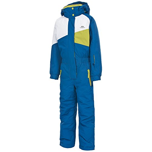(Trespass Childrens/Kids Wiper One Piece Ski/Snow Suit (5/6 Years) (Electric Blue))