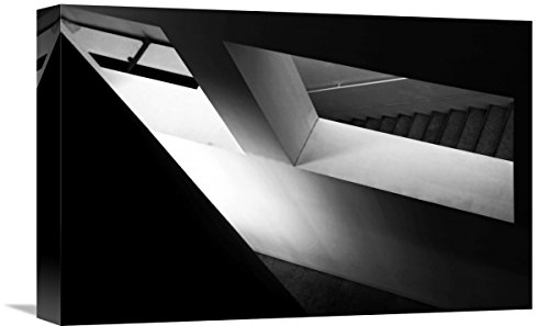 (Global Gallery Fernando Alves 'Light and Shadow Play' Giclee Stretched Canvas Artwork 18 x 12)