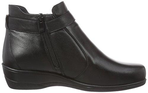 Florett Emma - botas de cuero mujer negro - negro