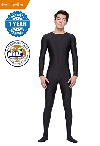 Color Life Unitard Men Lycra Spandex Bodysuit Long Sleeve Full Bodysuit Zentai Suit