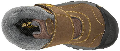 KEEN Kootenay Waterproof Winter Boot (Little Kid/Big Kid), Dark Earth/Spectra Yellow, 4 M US Big Kid by KEEN (Image #8)