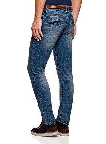 Basique Slim Bleu Ultra Jean Oodji 7500w Homme qw4FPfRxB