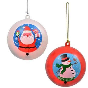 Image Unavailable - Amazon.com: Motion-Sensing Singing Christmas Ornaments Set: Home