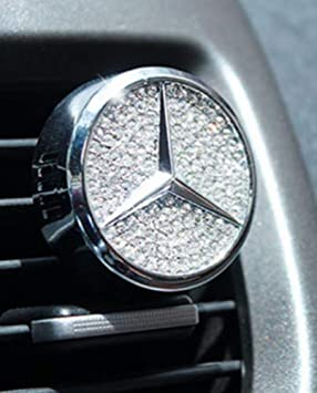 Fitracker Auto Logo Lufterfrischer Vent Clip Parfüm Lufterfrischer Duft Mercedes Drogerie Körperpflege