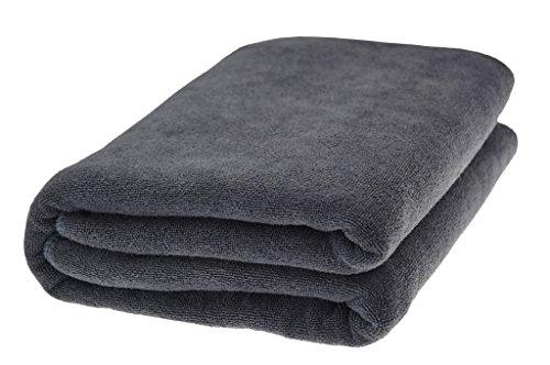 Dark Grey Supreme 600 gsm Egyptian Cotton Bath Towel BY-Raji