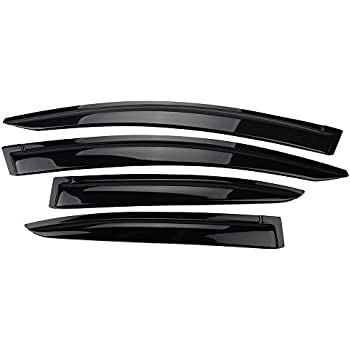 "Smoke Tint Type2 Moon Sun Roof Deflector 980mm 38.5/"" For 12-15 Honda Civic Sedan"