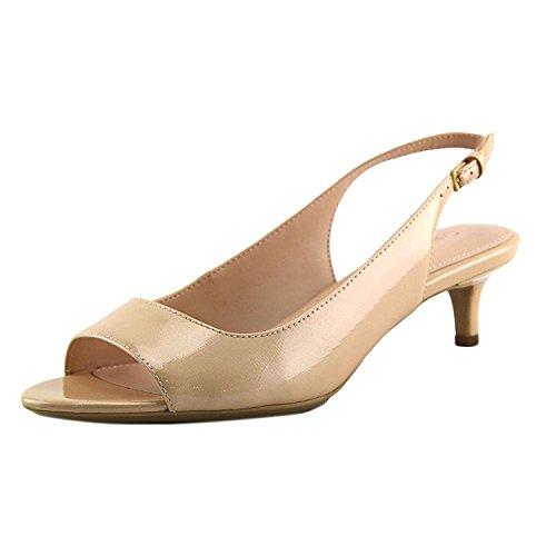 Womens Petal Slingback Sandal (Calvin Klein Womens Open Toe Casual Slingback Sandals, Petal Pink, Size 7.5)