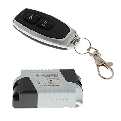Homyl DC15-120V 10A 315Mhz Relay Wireless Remote Control Switch Transmitter Module