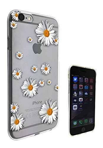 c0049 - Shabby Chic Floral Roses Daisy Design Pour iphone 5C Protecteur Coque Gel Rubber Silicone protection Case Coque