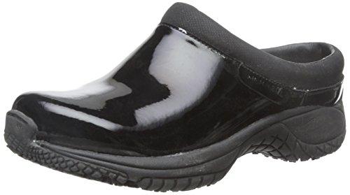 - Merrell Women's Encore Moc Pro Shine Slip-Resistant Work Shoe, Black Patent, 6 M US