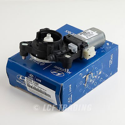 Genuine OEM Hyundai Window Motor Front left Side 82450-2C000 by HYUNDAI