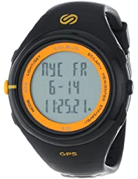 Men's SG003020 GPS Running Watch with Black Resin Band