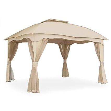 garden winds garden winds replacement canopy for roof style gazebo - Garden Winds Gazebo