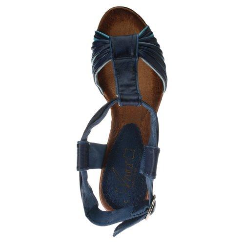 Azura Vianne Blue Multi Läder