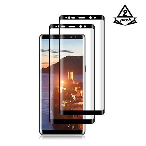 [2-Pack] Samsung Galaxy Note 8 PET Screen Protector, Fitquipment [Anti-Scratch] [Easy to Install] Screen Protector for Samsung Galaxy Note 8 PET Black