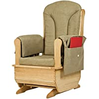Jonti-Craft 8164JC Glider Rocker with Olive Cushions