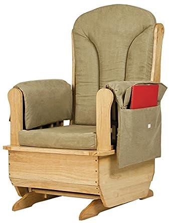Jonti Craft 8164JC Glider Rocker With Olive Cushions