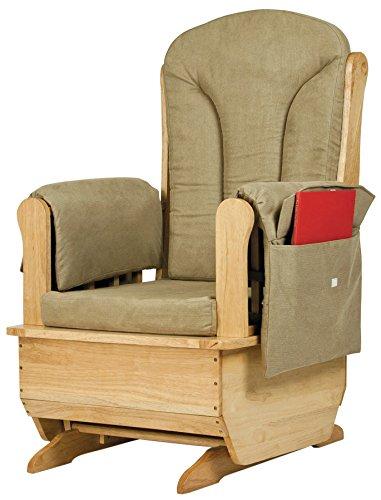 Jonti-Craft 8164JC Glider Rocker with Olive Cushions (Jonti Craft Rocker)