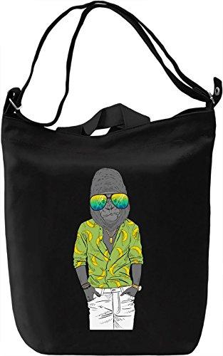 Cool gorilla Borsa Giornaliera Canvas Canvas Day Bag| 100% Premium Cotton Canvas| DTG Printing|
