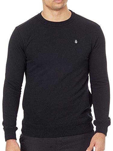 - Volcom Single Stone Crew Sweater Small Black