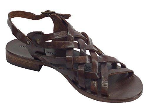 Mercanti De Mujer Sandalias Fiorentini Piel Vestir Caoba Para 4zwF4xrq