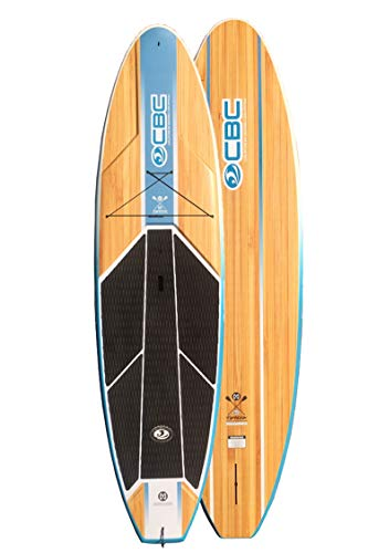 California Board Company 10'6 Typhoon Fiberglass Paddle Board w Board Bag & Paddle
