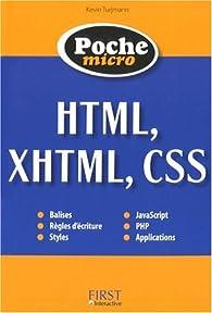 HTML, XHTML, CSS par Kevin Turjmann