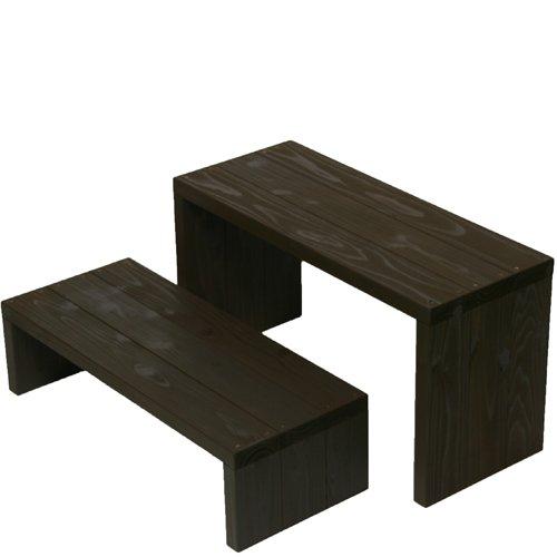 Welcome wood ウッドステージ662LM-UB 2段ワイドタイプ  色はUB アンバーブラウン  【完成品】 組み立てる必要なし。  個別に移動できるのでとっても便利。 B00EDMBZQY  (UB)アンバーブラウン