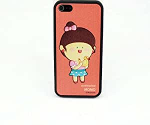 HJX iphone 5 New Cute Romane Cartoon Pink MOMO Removeble Three-Piece Hard Case Protective Cover For Apple iphone 5 5G 5th