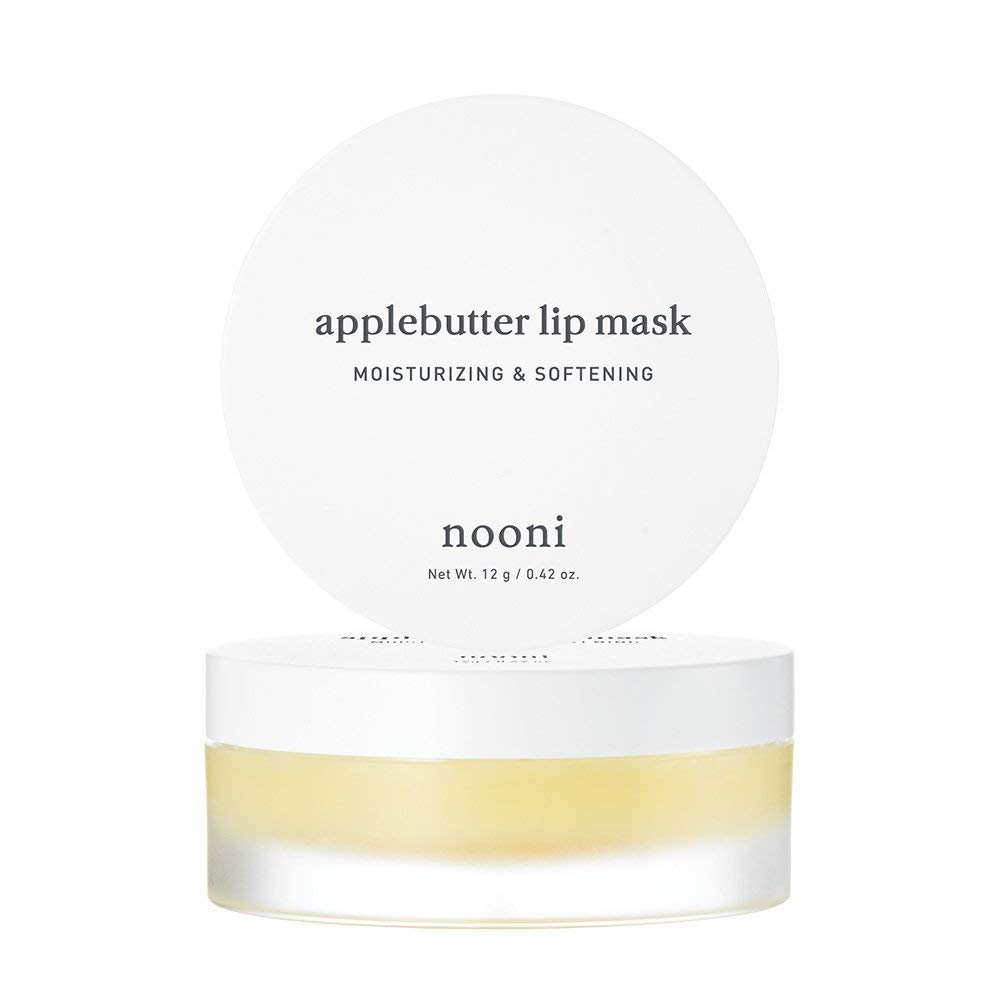NOONI Applebutter Lip Mask and Appleberry Lip Oil Duo Set, Moisturizing, lip care, Softening formula, Mineral oil free, Day&Night protect lip care, Rich lip balm, Lip primer, Lip scrub by NOONI