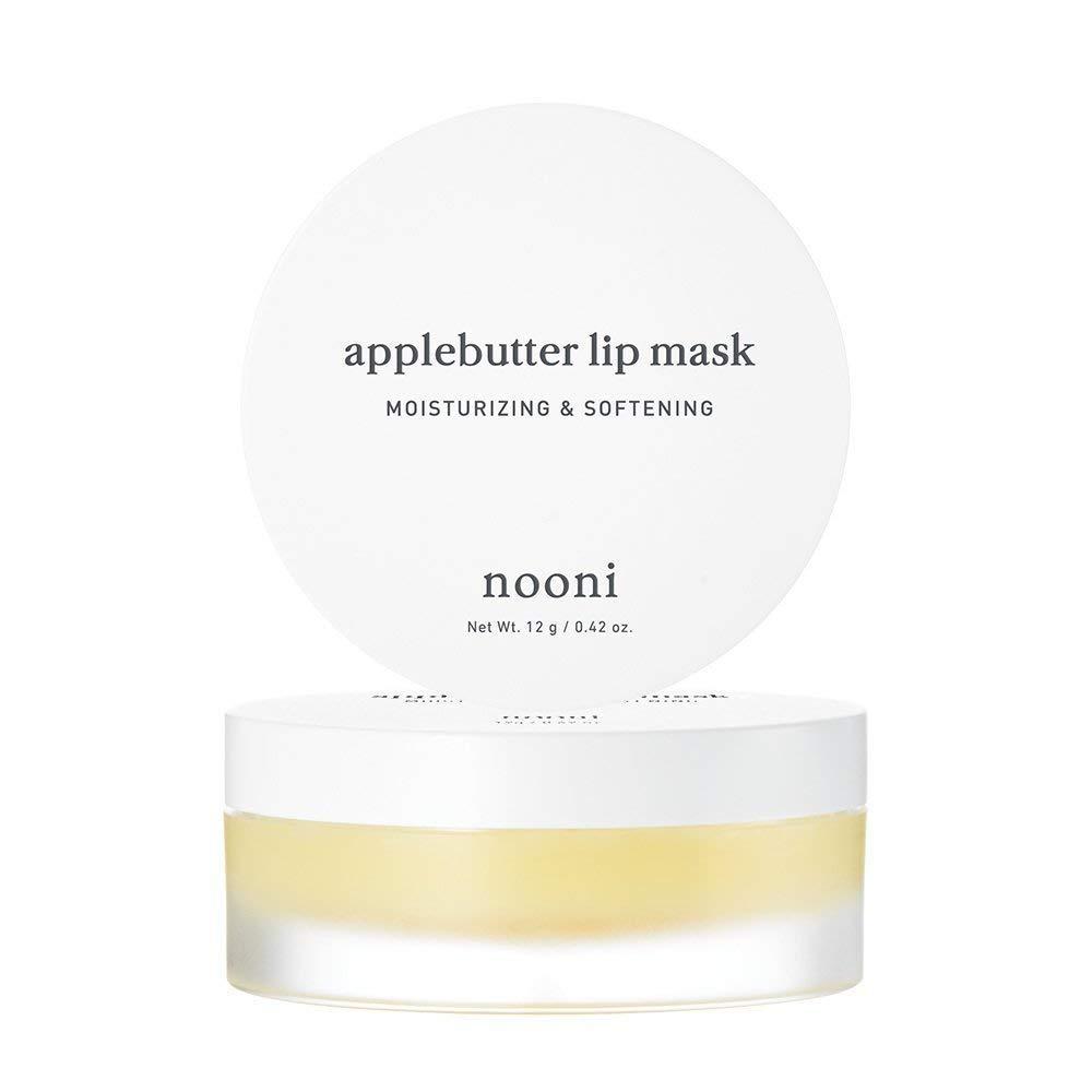NOONI Applebutter Lip Mask and Appleberry Lip Oil Duo Set, Moisturizing, lip care, Softening formula, Mineral oil free, Day&Night protect lip care, Rich lip balm, Lip primer, Lip scrub