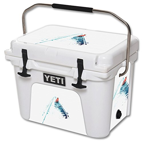 MightySkins Skin for YETI 20 qt Cooler - Strayed | Protective, Durable, and Unique Vinyl Decal wrap Cover | Easy to Apply, Remove, and Change Styles | Made in The USA by MightySkins