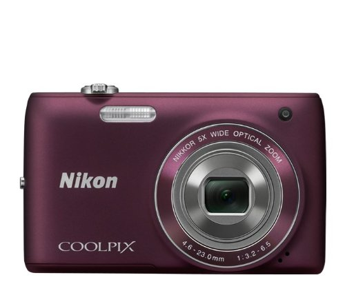 Nikon S4100 Wide Angle Touch Panel Plum