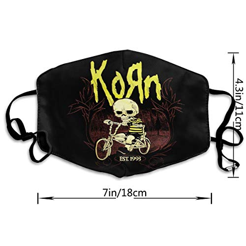 UxaliO Korn Fashion Printed Mask Recyclable Mask Dust Mask Anti-Dust Mask