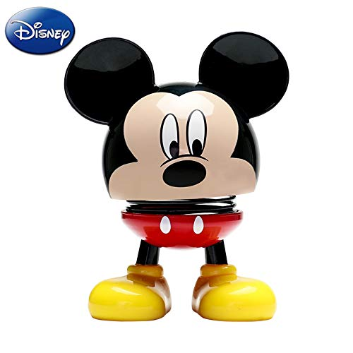 Mouse Disney Mickey Doll (TinPlanet Disney Mickey Mouse Collectible Figure, Bobblehead Doll Car Decoration 3.5 inches, Mickey Mouse - Classic Style Black & Red)