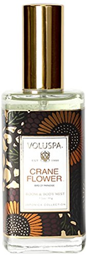 Voluspa Japonica Collection Room Spray & Body Mist - Crane Flower - Japonica Collection