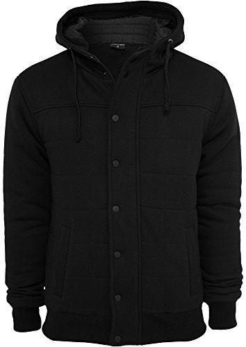 TB430 'Urban Classics' Sweat Winter Jacket (Various Colours), Größe:XL;Farbe:black