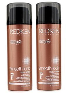 Redken Smooth Lock Stay Sleek Leave-In Cream For Dry Unruly Hair Pack of 2 5 oz by Redken (Image #1)
