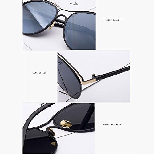 Coreanas DT 1 polarizadas Sol Color Gafas Femeninas Gafas de Sol Gafas Delgadas de wHwzOB