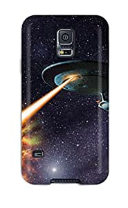 Premium Durable Spaceship Fashion Tpu Galaxy S5 Protective Case Cover