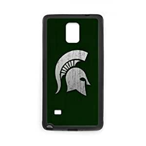 Michigan State Samsung Galaxy Note 4 Cell Phone Case Black BN6746075