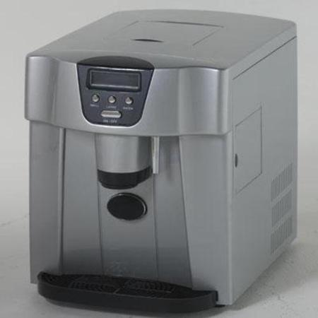 Avanti Countertop Icemaker/Water Dispenser, Silver, 12 1/4 X 14 1/2 X 17